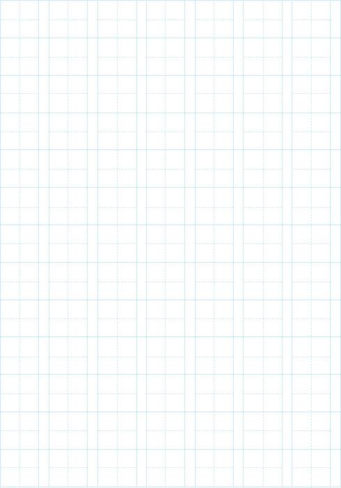 漢字練習フォーマット(読み仮名あり)